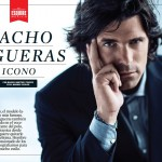 Nacho Figueras for Esquire Magazine groomed by Brandy Gomez-Duplessis.