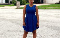 BEAUTY FILES (Fashion) Labor Day Weekend Blue & Gold