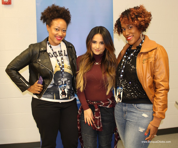 Backstage with Becky G and Boriqua Chicks