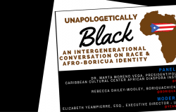 NYC Event – Unapologetically Black: An Intergenerational Conversation on Race & Afro-Boricua Identity